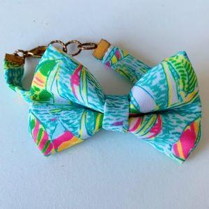 Jewelry - Lilly-printed bow bracelet